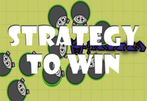 Strategies to win Swordz.io